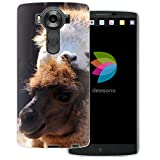 dessana Lama Inka Peru Coque de protection transparente pour téléphone portable LG V10 Motif...