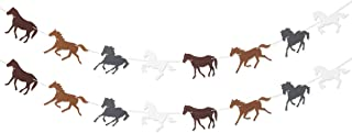 Horse Garland Banner for Kentukey Derby Horse Race Birthday Party Supplies Decorations