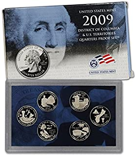 2009-S US Mint Proof Territory Quarter 6-coin with box/COA