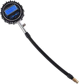 HELYZQ Medidor digital de pressão de ar para pneu de veículo