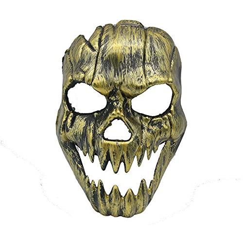 TYFYBH Conjunto de máscara de Horror de Halloween de Popular Blue Face Maquillaje Biografía Movie Theme Ghost Pirate Props (Size : K)