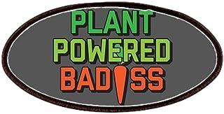 283c8b545ab1a CafePress - Plant Powered Badass - Patch