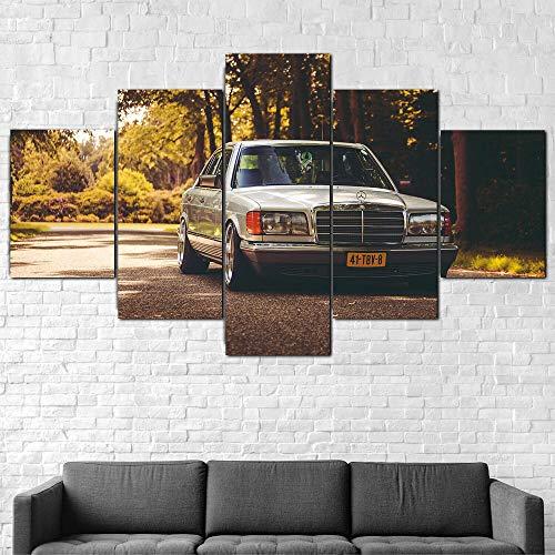 CDSWER Prints op canvas, canvas muurkunst 5 stuk canvas afdrukken gepersonaliseerde geschenken voor woonkamer slaapkamer…