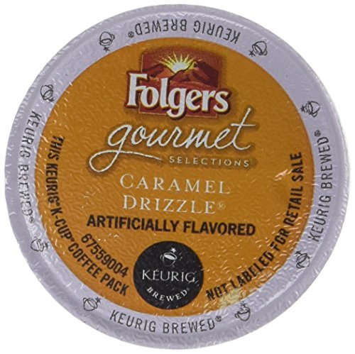 Folgers Caramel Drizzle K Cup Coffee 48 Count (Packaging May Vary)