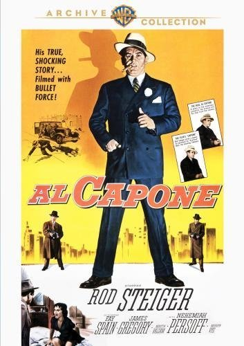 Al Capone by James Gregory, Martin Balsam Rod Steiger