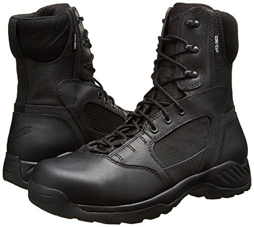 "Danner Men's Kinetic 8"" GTX Uniform Boot, Black, 10.5 D US"