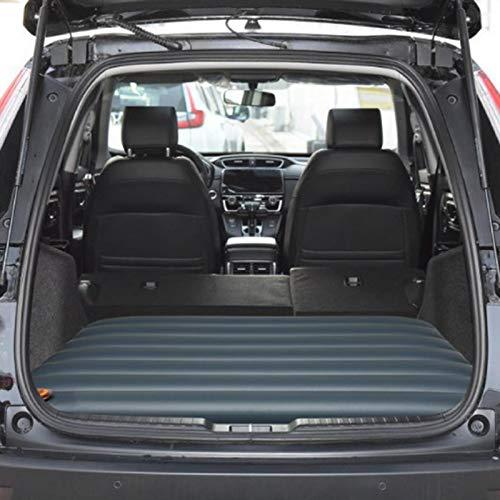 Primlisa Colchón de aire para coche, colchón hinchable portátil de viaje, camping, plegable, resistente al agua y transpirable, ligero y fácil de llevar