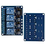Ecloud Shop 4 canal Modulo rele for Arduino ARM PIC AVR DSP TTL Electronic 5V