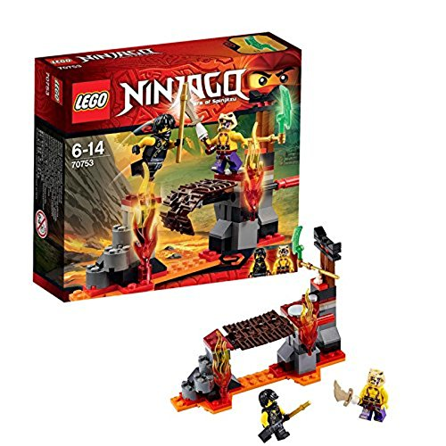 LEGO Ninjago 70753 - Cascate di Lava