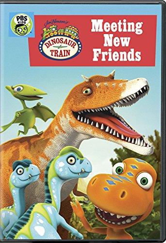 Dinosaur Train: Meeting New Friends DVD
