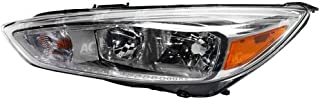 FO2502339 Headlight for 2015-2016 Ford Focus w/o DRL/Aluminum Bezel LH