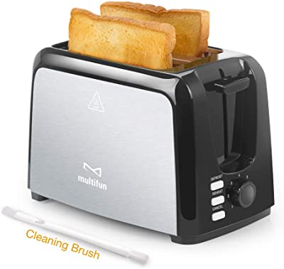 Multifun Stainless Steel Toaster with Warm Rack - Best kitchen appliances for college students