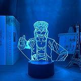 Danganronpa DGNYJ Veilleuse LED 3D Motif Mondo Owada Lampe pour chambre à coucher Décoration enfant Cadeau Danganronpa Acrylique 3D Lampe de table Mondo Owada
