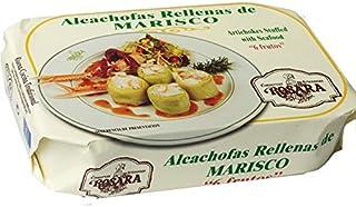 Rosara - Alcachofas rellenas de marisco
