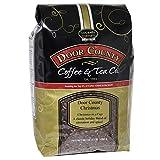 Door County Coffee Holiday Seasonal Blend, Door County Christmas, Cinnamon and Spice Flavored Wholebean Coffee, 5lb Bag