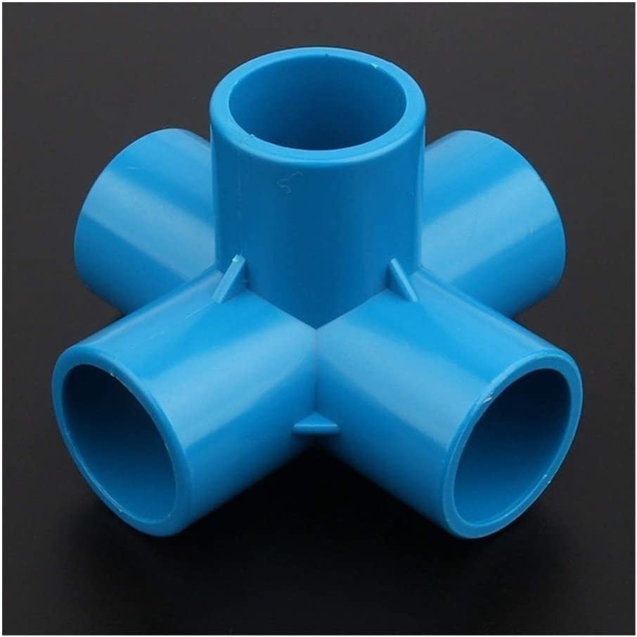 Pipe 2021 spring and summer new connector 12 24 48pcs Connector ! Super beauty product restock quality top! Stereoscopic PVC 25mm 5Ways