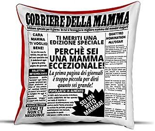 Love Mom Frullu Cuscino Festa della Mamma Cuore Idea Regalo by Supermom