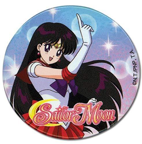 Great Eastern Entertainment Sailor Moon Mars Button, 2'