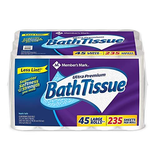 Member's Mark Ultra Premium Bath Tissue, 2 ply (232 Sheets, 45 Rolls)