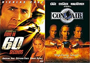 Nicolas Avoiding That Human Cage (Jail) - Gone In 60 Seconds & Con Air 2-DVD Collection