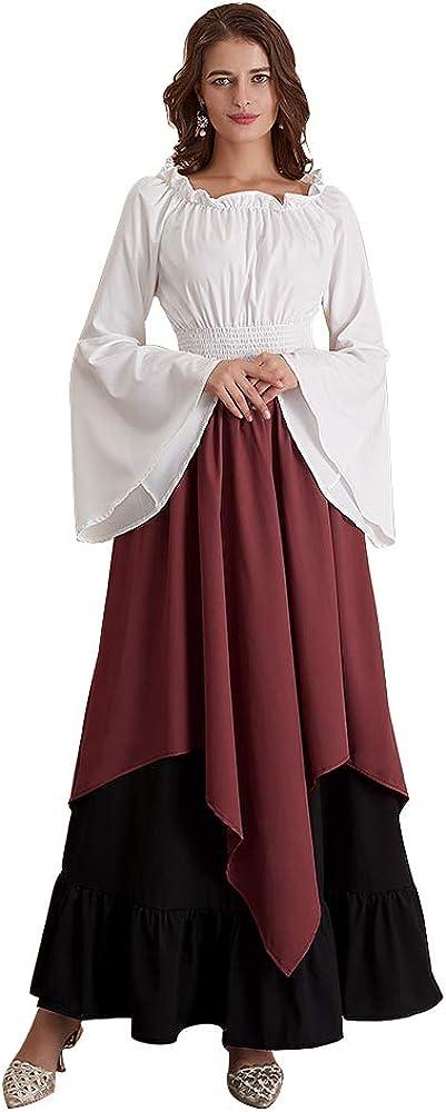 Free Shipping Cheap Bargain Cheap Gift Abaowedding Women's Medieval Dress Retro Renaissance Ir Costumes