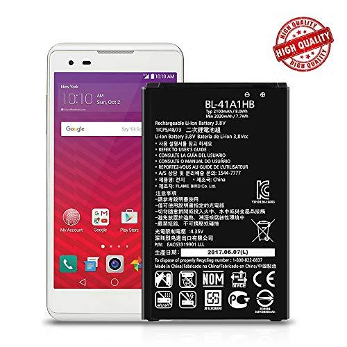 for LG Tribute HD LS676 LS660 LG X Style L56VL L53BL Replacement Battery BL-41A1HB