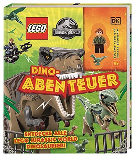 LEGO® Jurassic World™ Dino-Abenteuer: Entdecke alle LEGO Jurassic World Dinosaurier! Minifigur Claire und Baby-Raptor