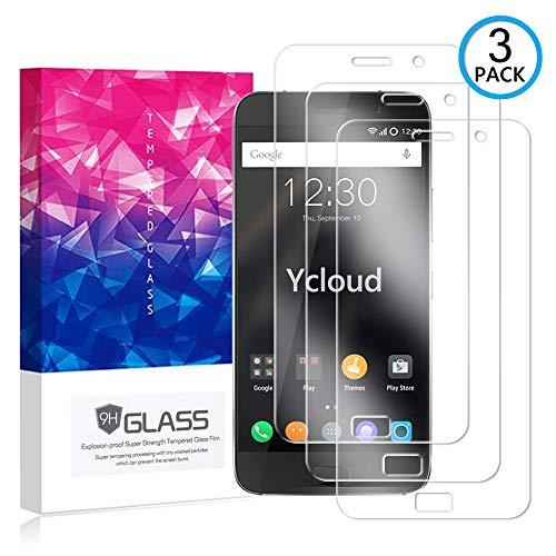 Ycloud [3 Pack] Protector de Pantalla para Lenovo ZUK Z1,[9H Dureza/0.3mm],[Alta Definicion] Cristal Vidrio Templado Protector para Lenovo ZUK Z1