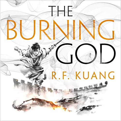 Couverture de The Burning God