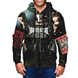 2021人気 おしゃれ ベビーメタル Babymetal 男性用と女性用のジャケット フード付きのファスナー 冬のカジュアルジャケット