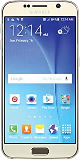 Samsung Galaxy S6 G920T 32GB Unlocked GSM 4G LTE Octa-Core Android Smartphone w/ 16MP Camera - Gold
