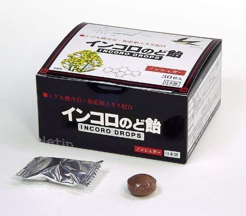 インコロのど飴(INCORO DROPS) 30粒入 ハーブ
