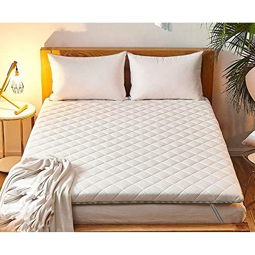 YQ WHJB Matt Mat Sleeping Pad, Thick Floor Futon Mattress Cotton Quilted Mattress Topper Pad Breathable Student Dormitory Mattress-b 200x220cm(79x87inch)