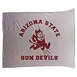 Arizona State Sun Devils Large 48'x60' Grey Fleece Throw Blanket University of