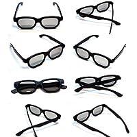 Rheme - Gafas 3D pasivas para televisores LG, Panasonic y Sony (10 unidades), color negro