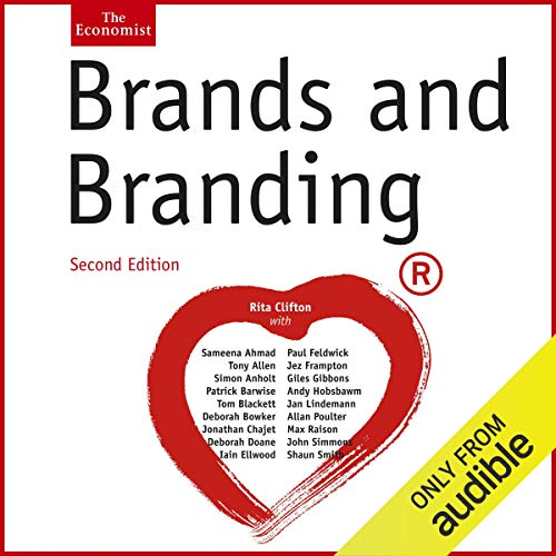 Brands and Branding audiobook cover art