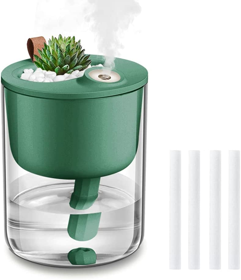 Humidifiers Cheap mail order specialty store shopping DCMEKA Mini Small Humidifier for Bedroom Cool USB