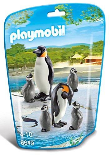 PLAYMOBIL - Familia de pingüinos 66490