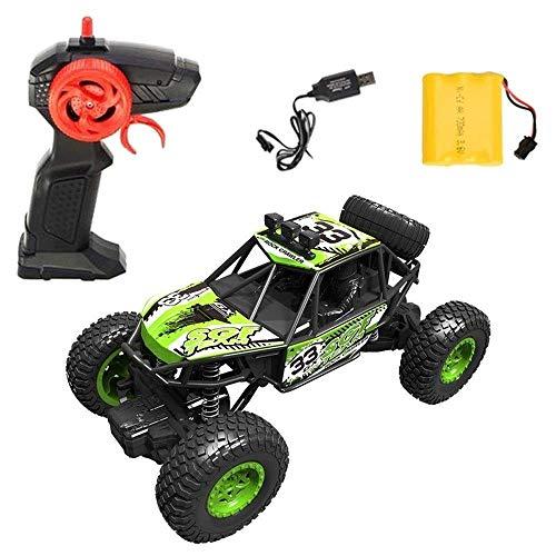 Todoterreno eléctrico 1/20 45 grados;Escalada rc camiones, 2.4G de alta velocidad del motor de carreras de coches a prueba de agua, de carga USB del coche de RC, del cumpleaños del niño de control rem