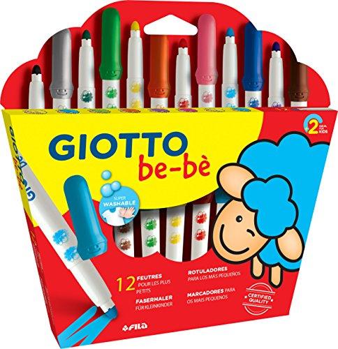 Giotto be-bè 469900 - Estuche de 12 maxi rotuladores para los más pequeños
