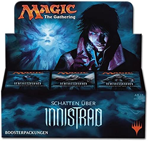 GERMAN Magic The Gathering MTG Shadows Over Innistrad Booster Box - 36 packs of 15 cards each by Magic  the Gathering