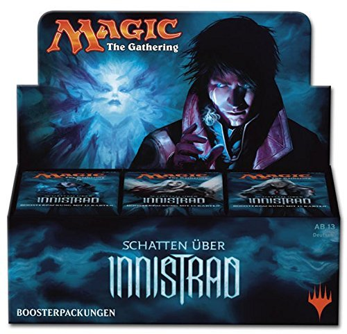 GERMAN Magic The Gathering MTG Shadows Over Innistrad Booster Box - 36 packs of 15 cards each by Magic: the Gathering