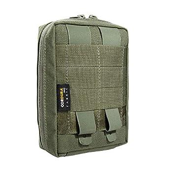 Tasmanian Tiger TT Tac Pouch 1.1 Sac à Dos supplémentaire Compatible avec système Molle, Poche pour Accessoires EDC, Outils ou Petits Kits de Premiers Secours ; 15 x 10 x 4 cm, Olive