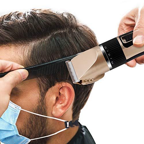 Extensión de la correa de la máscara Extensión de la máscara Gancho para proteger las orejas y la máscara facial de los cortapelos y tijeras de aseo.