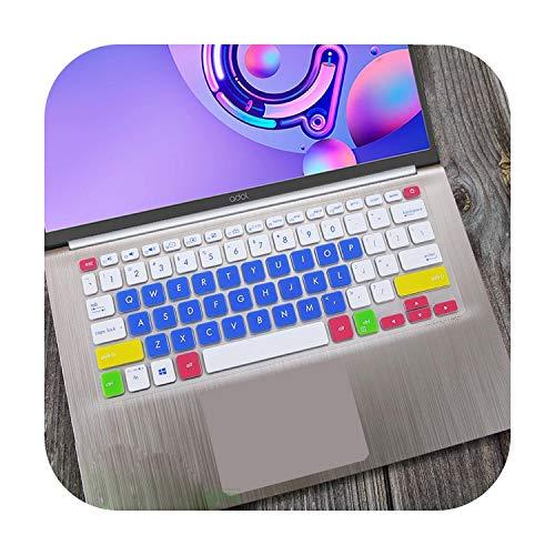 Funda protectora de silicona para teclado portátil ASUS Vivobook S14 S430UN S430FN S430F S430U S430FA S430 S 12 14 Pulgadas-azul