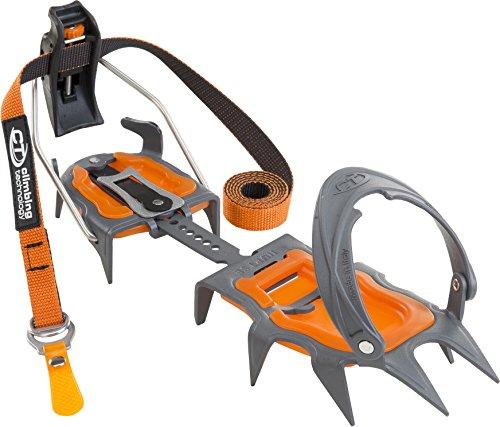 Climbing Technology Nuptse Evo Semiautomatic 3i851dvebictstd Harscheisen, grau/orange, Einheitsgröße