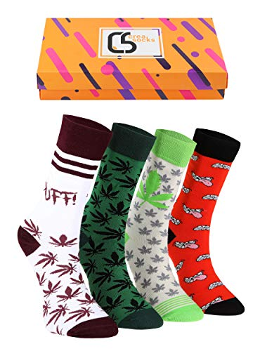Crea Socks Puffsocken, Herrensocken, Spaßsocken, Geschenk Herrensocken