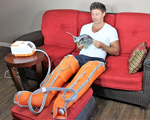 Sequential Compression Device by Air Relax. Compression Pump, Foot and Leg Massager, Leg Compression...