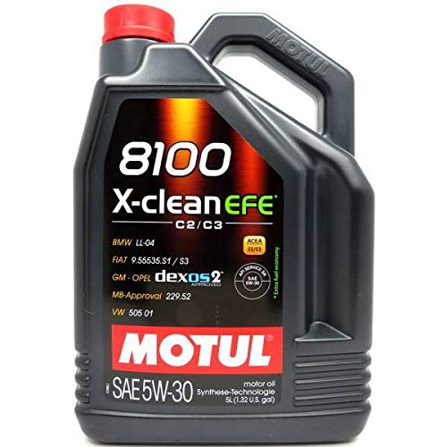 Motul 5 Liter 8100 X-clean EFE C2/C3 5W-30