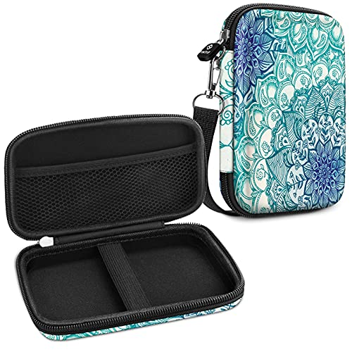 Fintie Tasche Hülle für Fujifilm Instax Mini Link Printer/HP Sprocket Plus - Premium Starke Hartschalen Fotodrucker Tragen Fall Tragetasche Etui,Smaragdblau
